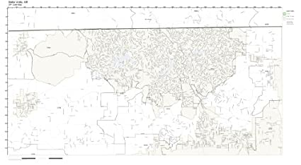 Amazon Com Zip Code Wall Map Of Bella Vista Ar Zip Code Map