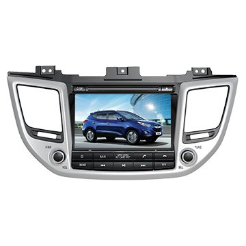 8 Inch Touch Screen Car GPS Navigation for HYUNDAI TUCSON 2015-2016 2017 Stereo DVD