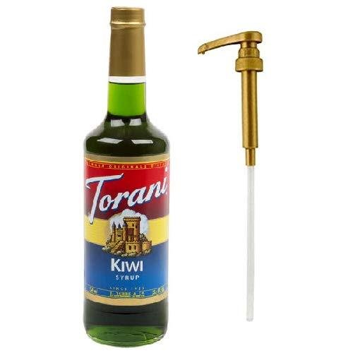 Torani Kiwi Syrup & Syrup Pump