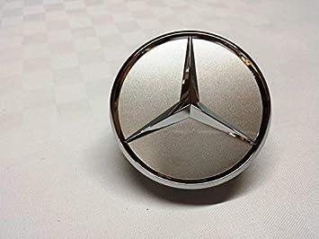 Mercedes Benz tapacubos color plata/cromo con estrella B66470202 / A2204000125 Clase-E,