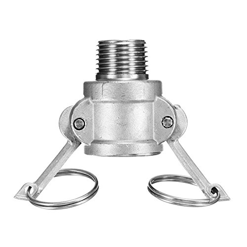 Homebrew Camlock Plug Fitting Adapters Quick Connection MPT FPT Barb Home Garden Hose Pipe Connectors Stainless Steel ()