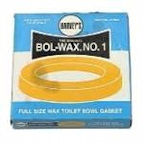 (Harvey's Bol-Wax No. 1 Heavy Duty, Standard Wax Ring Without Flange, 5-1/2 in OD)