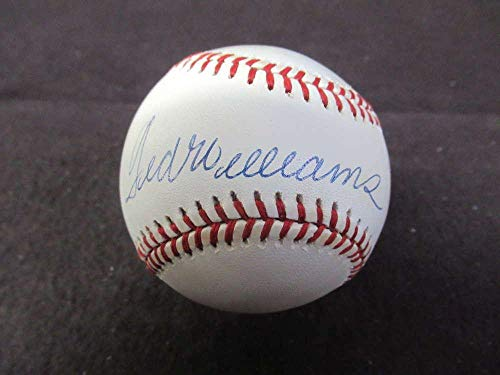 Autographed Ted Williams Ball - Oalb Loa Bl155 - JSA Certified - Autographed Baseballs