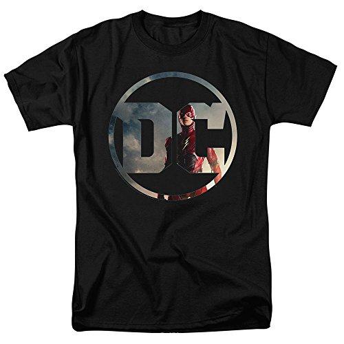 Justice League Movie Flash DC Comics Logo T Shirt & Stickers
