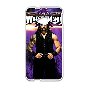HTC One M7 Cell Phone Case White WWE ARU Phone Case Durable Unique