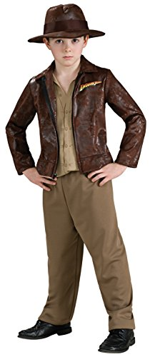 Indiana Jones Child's Deluxe Indiana Jones Costume, Medium - Deluxe Kids Indiana Jones Costumes
