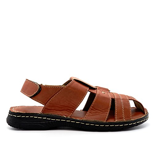 Pour Chaussures Fabrice Chaussures Tan Chaussures Pour London Sandales Hommes London Sandales Fabrice Hommes London Tan Fabrice TH1qAW