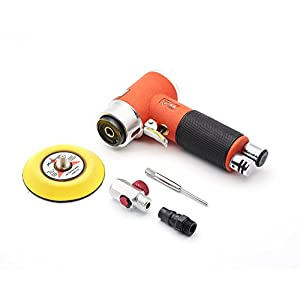 Mini Air Sander 3 Inch Dual Action Orbital Pneumatic Polisher for car Sanding Tool