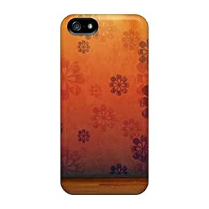 ChristineBR Case Cover For Iphone 5/5s - Retailer Packaging Orange Room Protective Case