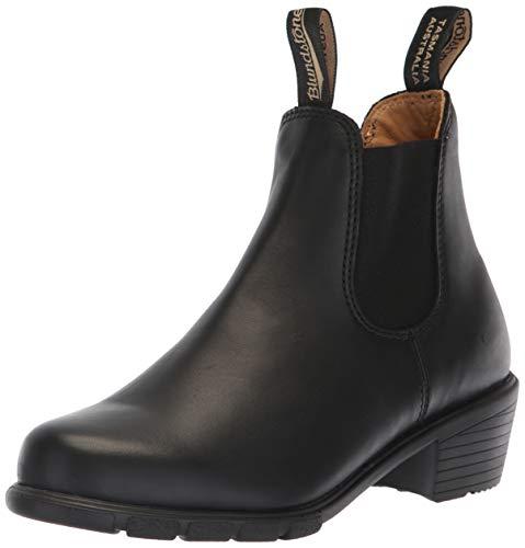 (Blundstone 500 Series Original Heel Boot - Women's Black, US 8.0/UK 5.0)