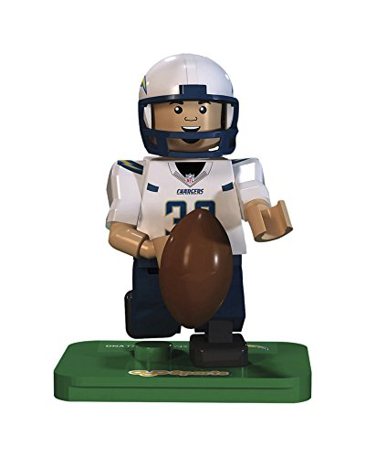 NFL GEN3 San Diego Chargers Danny Woodhead Limited Edition Minifigures, Blue, Small