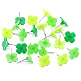 24 pcs Leaf Lucky Push Pins Thumb Tacks Drawing Pins for School, Home, Office In Daily Life