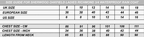 Qualité Sherwood 4 Oakfield Imperméable 3 Femme Marine Bleu Supérieure Longueur Pour Richmond rrExq81