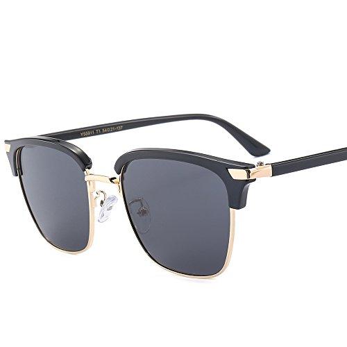 conduite soleil polarisées soleil soleil trame tendances polarisées mode de lunettes de T1 lunettes de demi lunettes Qinddoo v4Aqww