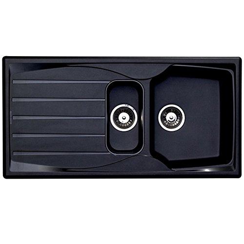 * McAlpine SK1A 1-1//2 Kitchen Sink Bowl and a Half Sink Waste 2 appliance outlet