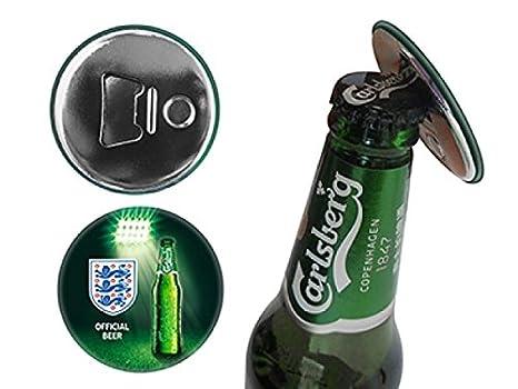 Imán para nevera con abrebotellas de Inglaterra Carlsberg, diseño ...