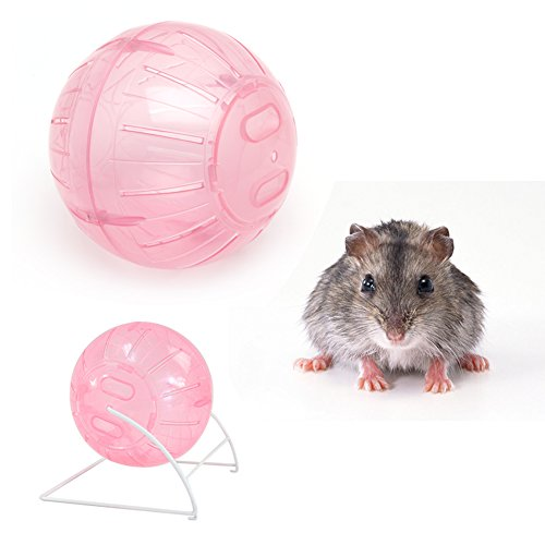 - SELFON 12cm Colorful Run-About Exercise Ball Clear Hamster Mouse Rate Plastic Toy