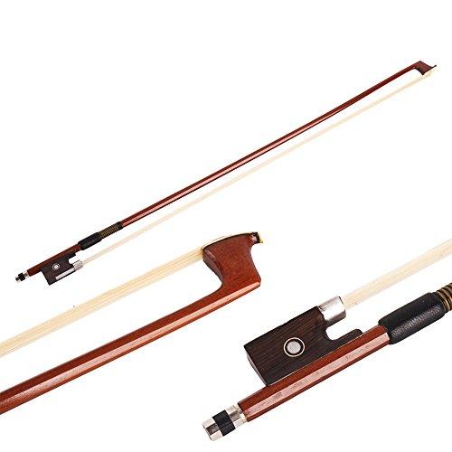 Z ZTDM Brazilwood Octagonal stick Mongolian Horsehair Violin Bow (3/4 - Brazil Usps