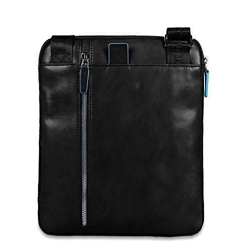 Piquadro AR Cross Negro Bag Square Body Blue CA1816B2 wP7WqvwU1