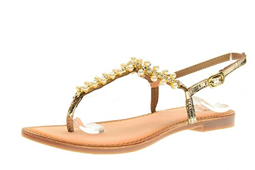 GIOSEPPO los zapatos de las mujeres flip flop 40705-46 PIERA Oro