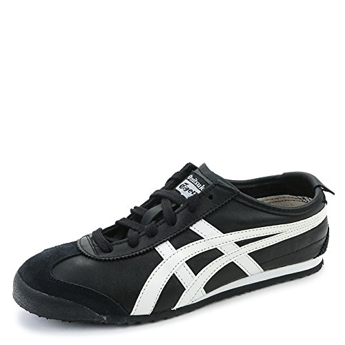 Asics Onitsuka Tiger Mens Mexico 66 Sneakers Dl408 9001 Black White Sz 8 M  Us