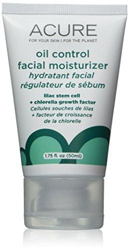 Oil Control Gel Cream (ACURE Oil Control Facial Moisturizer: Lilac Stem Cells + 1% Chlorella Growth Factor - 1.7)