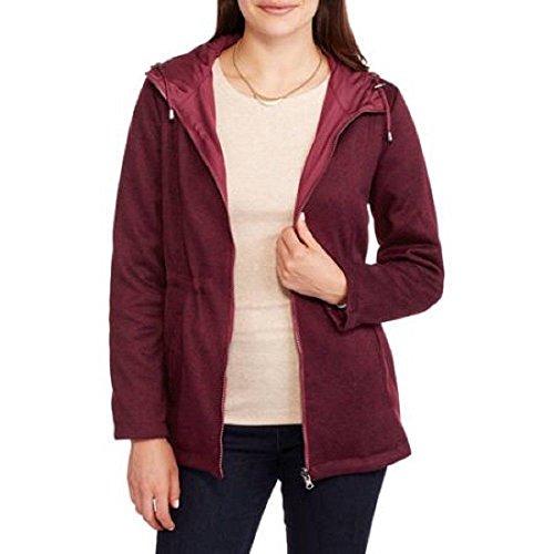 Reversible Anorak Jacket (Faded Glory Women's Reversible Anorak Jacket Burgundy M 8-10)