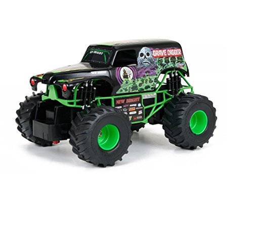 New Bright Monster Jam Grave Digger Radio Controlled - Remote Controlled Monster Truck