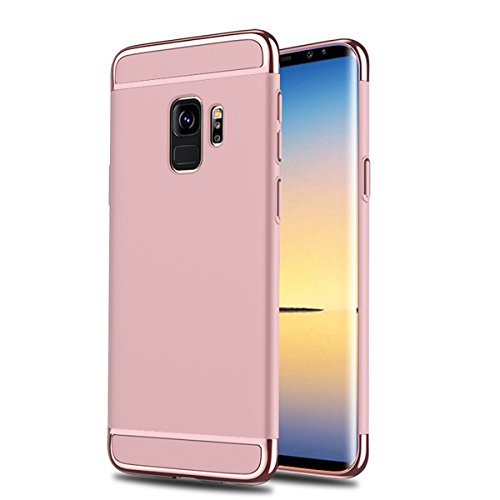 Galaxy Galaxy Galaxy Duro Absorption Samsung 1 S9 PC Antigraffio Custodia Rose Rigido Gradi Sottile Ultra 3 per Gold Case Case S9 Plus Cover Samsung S9 in Cassa 360 Shock StqyRwn56g
