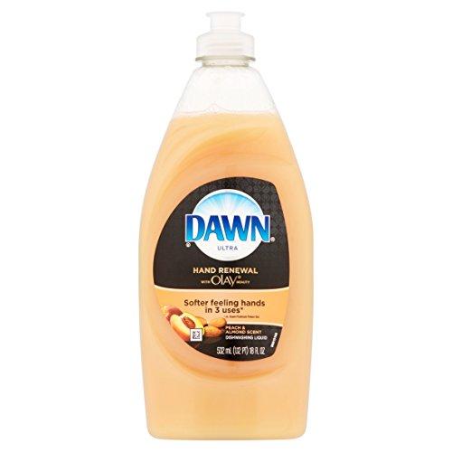 dawn-rinses-clear-hand-renewal-with-olay-beauty-peach-almond-dishwashing-liquid-18-fl-oz