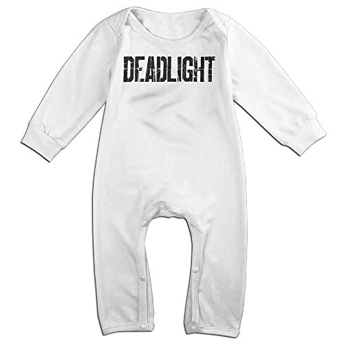 [VanillaBubble Dead Light For 6-24 Months Toddler Funny Romper White Size 18 Months] (Young Elvis Presley Costumes)