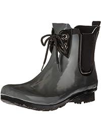 Women's Chelsea Lace-up Rain Boots