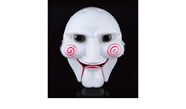 Partylandia Mascara de Saw - Halloween, Mascaras, Antifaces y Caretas: Amazon.es: Ropa y accesorios