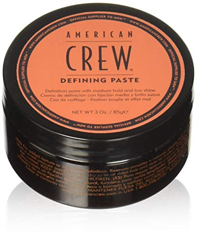 American Crew for Men Defining Paste Medium Hold Low Shine - 3.0 Ounce (Pack of 2 Jars) ()