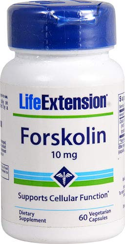 - FORSKOLIN 10 MG 60 Vegetarian Capsules Pack of 4