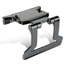 Kabalo Retail Boxed TV MOUNT CLIP Stand Bracket Holder Cradle for XBOX 360 Slim KINECT SENSOR Camera