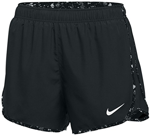 Nike Womens Dry Tempo Short - Black/Black - Large