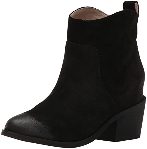 Ankle Boot Suede Sol Black Bootie Distressed Sana Mason Women's qwnS1I