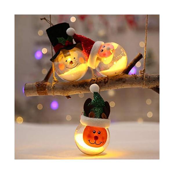 O-Kinee Palle di Natale Trasparenti,16 PCS Palle di Natale Palline Riempibili,Decorazione Natalizia Albero Natale,Decorazione Albero di Natale,per la Festa Compleanno Decorazioni di Nozze (16pcs) 4 spesavip