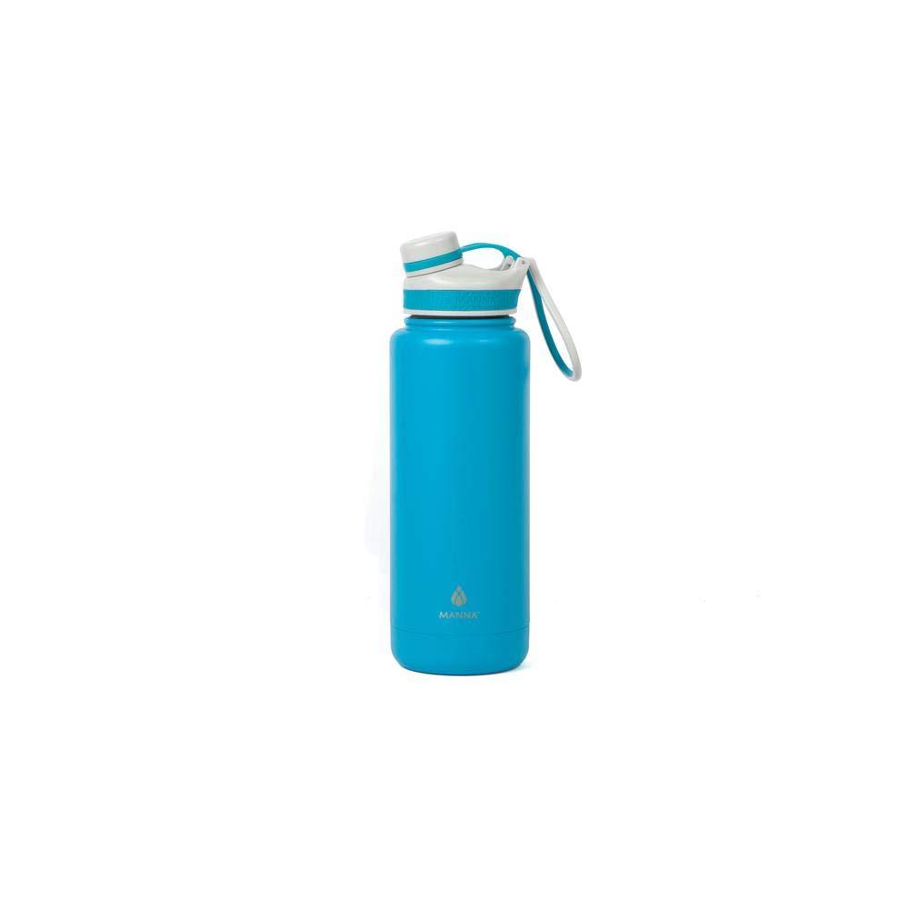 Ranger Pro 40オンス 二重壁ステンレススチールボトル ティール - 耐汗、漏れ防止、BPA、鉛フリー、デュアルオープニング B07GNGPNC8