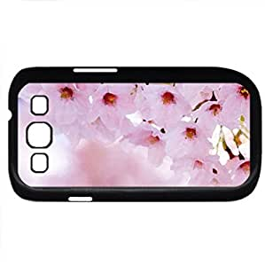 Spring - Watercolor style - Case Cover For Samsung Galaxy S3 i9300 (Black)