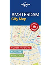 Lonely Planet Amsterdam City Map 1st Ed.