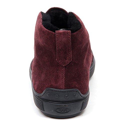 Scarpe Polacchino Boot Fur Bordeaux Uomo E3660 Chiaro Man Shoe Light Tod's Bordeaux Inside XwfRxU