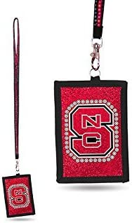 Rico NCAA Arizona State Sun Devils Beaded Gem Lanyard with ID Wallet