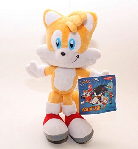 Shalleen Sonic The Hedgehog Tails Yellow Sega Plush Doll Stuffed Figure Toy 8 inch Gift - Sonic The Hedgehog Costume Australia
