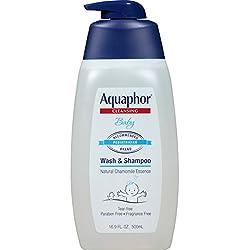 Aquaphor Baby Wash & Shampoo 16.9 Fluid Ounce