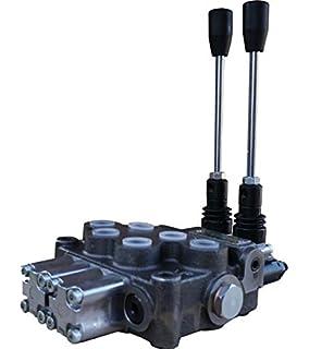 ressort de centrage LC 1 section Valve de commande manuelle 45 litres avec valve de limitation de pression DBV 160 /à 315 bar
