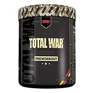 Total War – Pre Workout – Newly Formulated Tigers Blood Larger Size 50 Servings