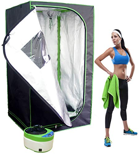 Sauna Rocket - Home Steam Sauna Kit for Recovery, Weight Loss, Relaxation