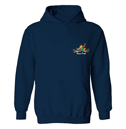 peace-frogs-retro-frog-youth-licensed-pull-over-hoodie-navy-large